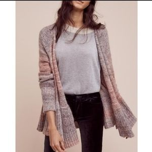 Anthropologie Knitted & Knotted Cody Ombre Sweater
